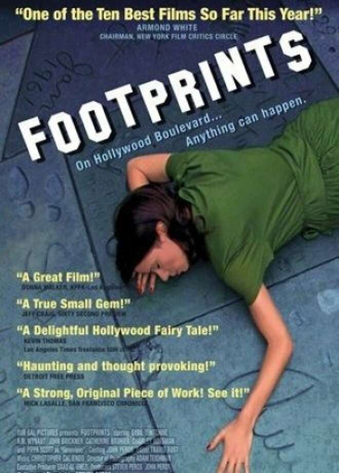 dvd cover FOOTPRINTS Photo: Our Gal Pictures, Amazon.com