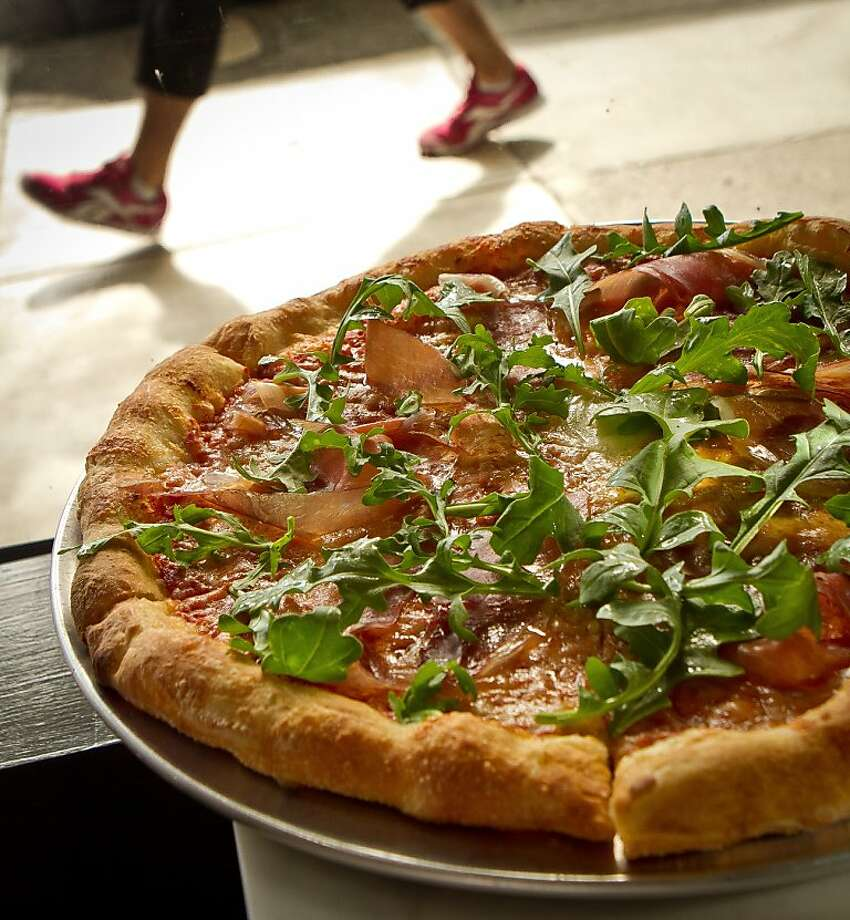 The Prosciutto and Arugula Pizza at Giola Pizzeria in San Francisco, Calif., is seen on Friday, June 22nd, 2012. Photo: John Storey, Special To The Chronicle