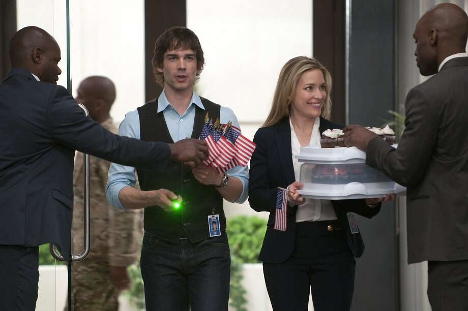 "Christopher Gorham and Piper Perabo's charactersm Auggie and Annie, have developed a romance on the USA Network series ""Covert Affairs."" Photo: Christos Kalohoridis, USA Network"