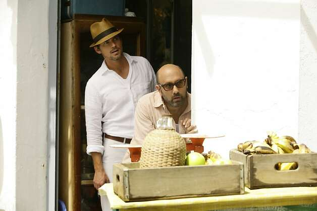 "Matt Bomer, left, as Neal Caffrey and Willie Garson as Mozzie in ""White Collar."" Photo: Javier Pesquera, USA Network"