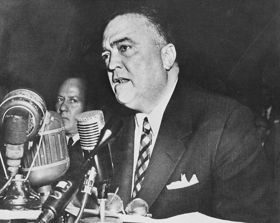 In 1937, J. Edgar Hoover verified a grim story about an Alcatraz prisoner involving an ax. Photo: Handout, Sfc