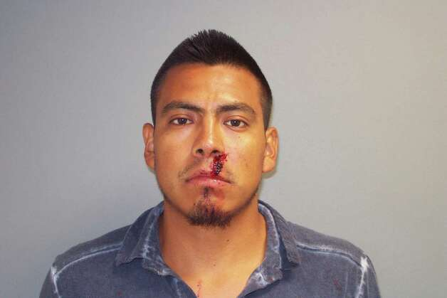 Reyes Aguilar, 23, of Norwalk was charged with first-degree assault following a dispute over a parking space in South Norwalk late Wednesday night. Photo: Contributed Photo