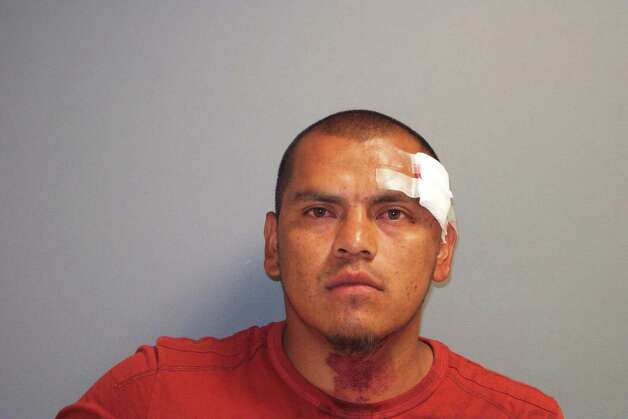 Oscar Aguilar, 27, of Norwalk was charged with first-degree assault following a dispute over a parking space in South Norwalk late Wednesday night. Photo: Contributed Photo