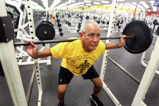70 Year Old Eyes Global Weightlifting Competition San