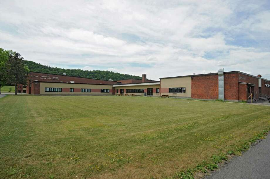 Exterior of the Ravena-Coeymans-Selkirk High School Thursday, July 5, 2012 in Ravena, N.Y. (Lori Van Buren / Times Union) Photo: Lori Van Buren
