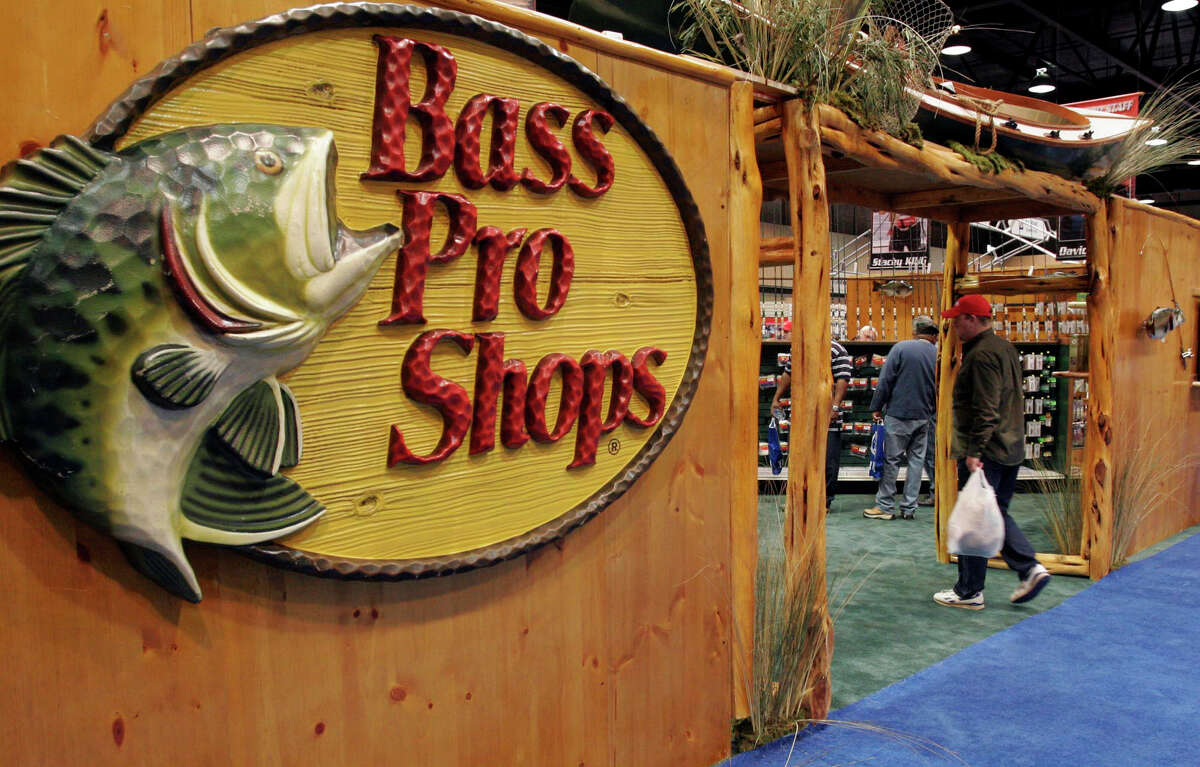 Bass Pro Shop booth at the trade show during the 2007 Bass Master's Classic. (AP Photo/Butch Dill)