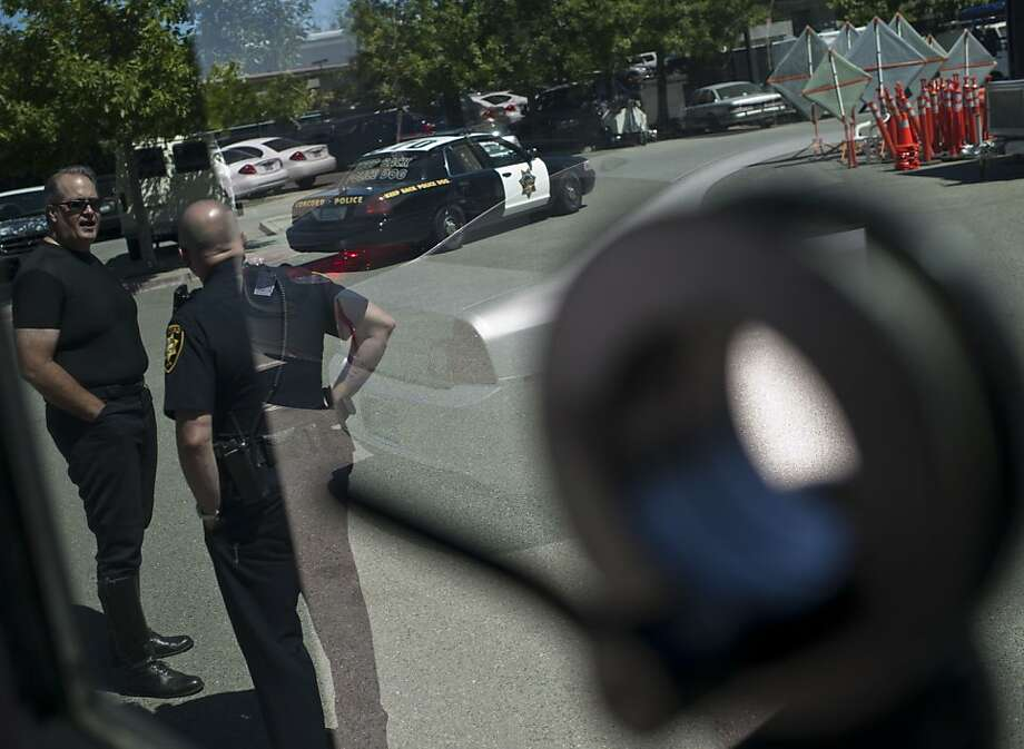 Inside of Armored Vehicle at Concord Police Department, Concord, Calif on Thursday, July 5, 2012. Photo: Yue Wu, The Chronicle