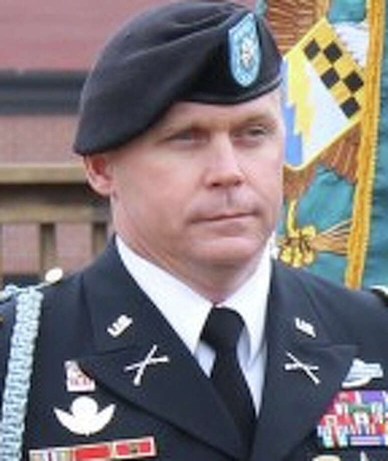 Authorities say 42-year-old Lt. Col. Roy Tisdale of Alvin, Texas, died immediately after being shot at Fort Bragg, and the shooter then turned the gun on himself. Photo: Photo Courtesy Fort Bragg