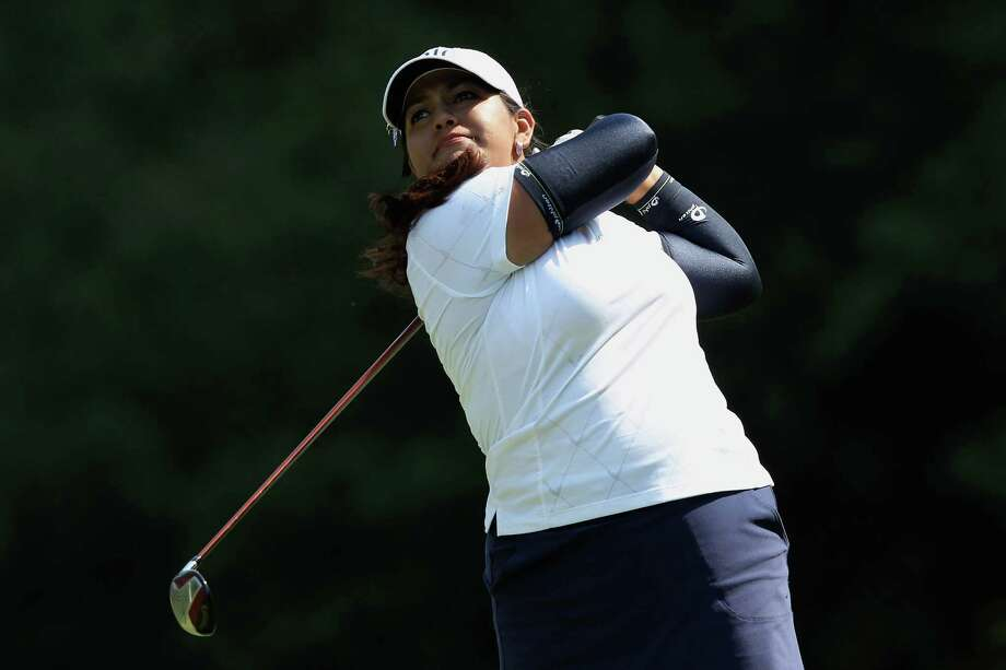 Lizette Salas grabbed a share of the lead in the first round of the U.S. Women's Open on Thursday as the 22-year-old shot a 3-under 69 in Kohler, Wis. Photo: Scott Halleran / 2012 Getty Images