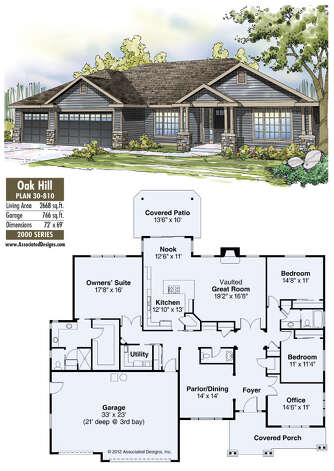 Oak Hill plan 30-810