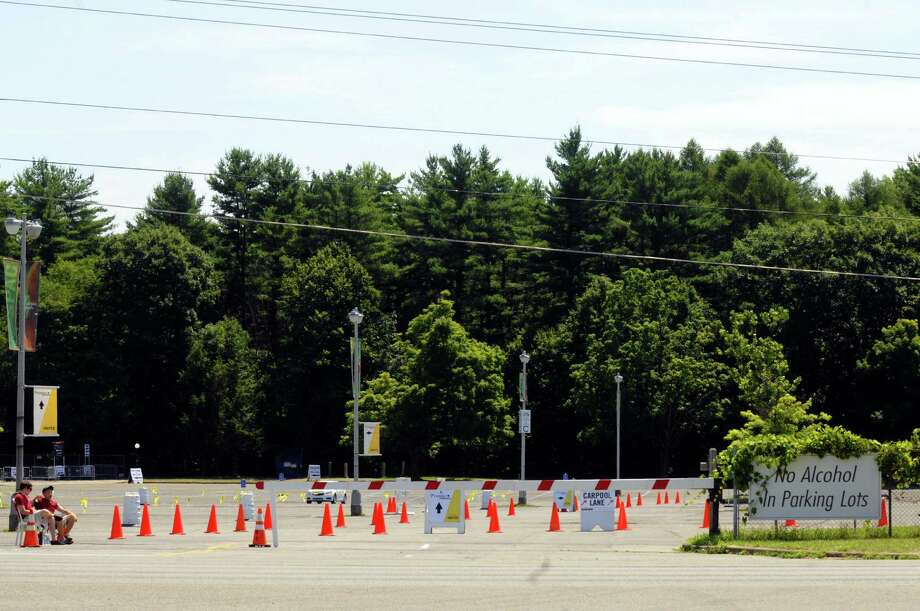 Attendants staff parking lots Friday at the Saratoga Performing Arts Center in advance of the Phish concert  in Saratoga Springs. (Michael P. Farrell / Times Union) Photo: Michael P. Farrell