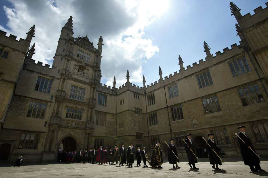 No. 4: University of Oxford, up from No. 6 in 2012 survey. Photo: BEN STANSALL / AFP