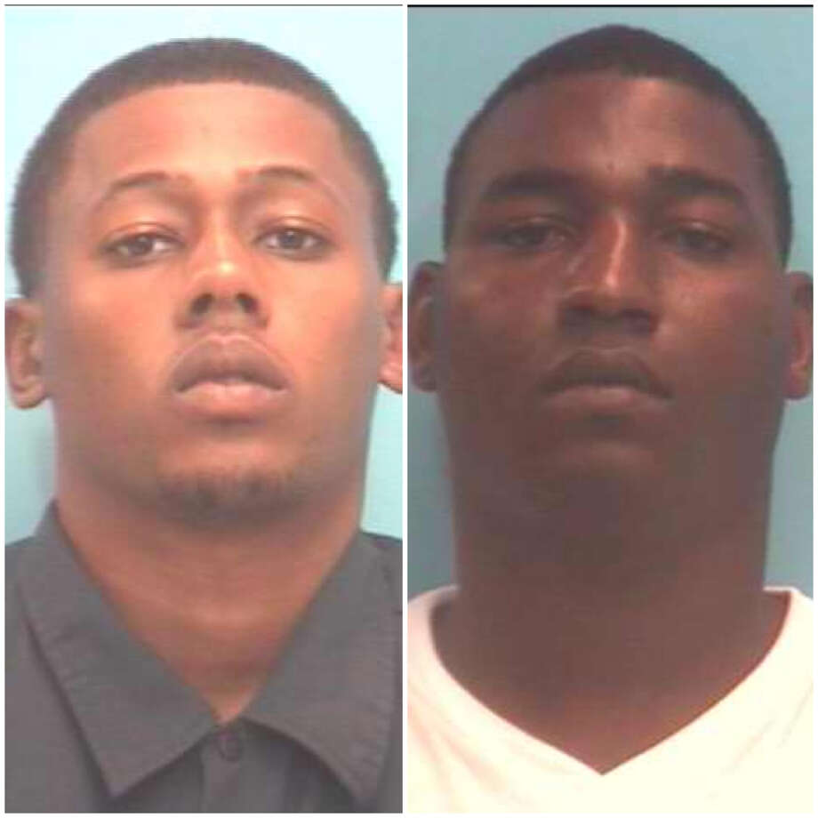 Keenan Jermaine Wilridge, 23. pictured left, was charged with possession of a controlled substance. Bond was set at $20,000. Cordoera Dean Felix, 24, pictured right, was charged with possession of marijuana. Bond was set at $5,000 Photo: Orange Police Department