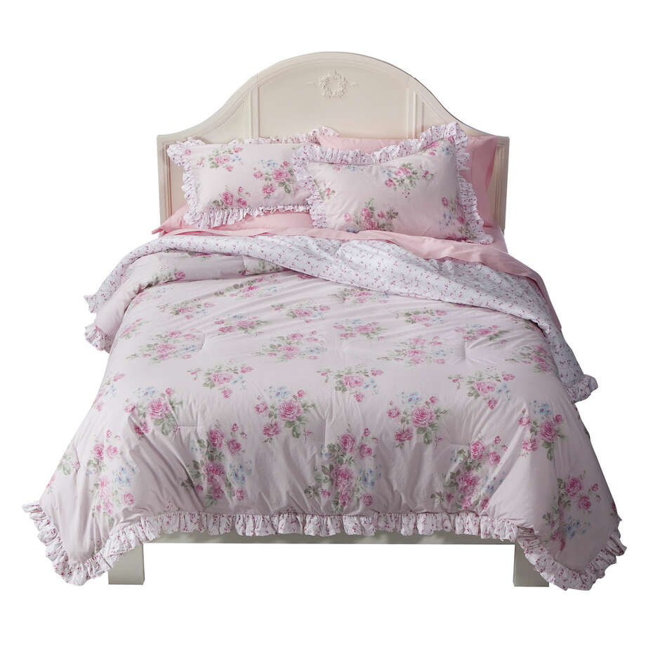 Simply Shabby Chic Misty Rose Comforter,  $79.99 to $119.99, Target. Photo: Target / ©2010 All Rights Reserved Target Corporation