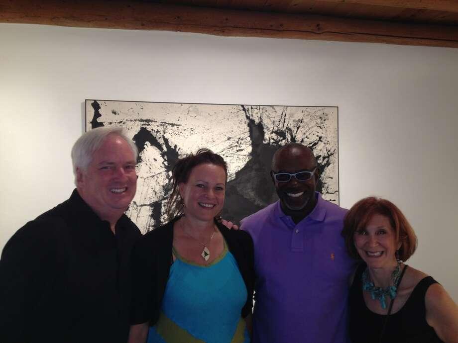 Wade Wilson, from left, Ana Biele, Gerald Smith and Ellen Orseck Photo: Wade Wilson Art
