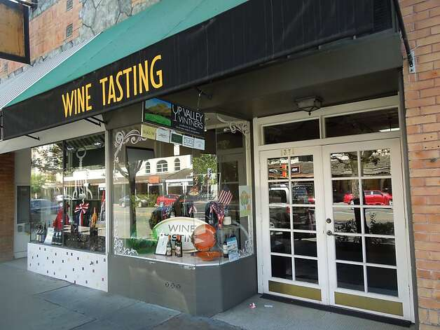 The Up Valley tasting room in Calistoga, Calif. Photo: Carey Sweet, The Chronicle