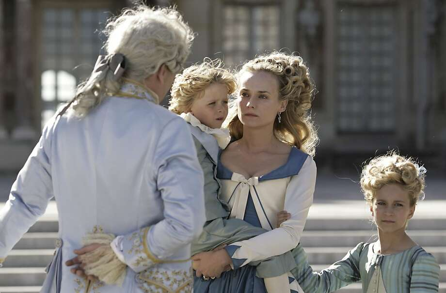 "Diane Kruger (right) in ""Farewell, My Queen"": What's to forgive? Photo: Carole Bethuel, New York Times"