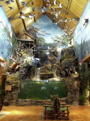The fish aquarium inside the Bass Pro Shop in Branson, MO. Photo: Contributed Photo, Bass Pro Shops/Contributed Photo / Connecticut Post Contributed