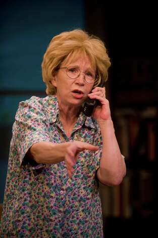 "Debra Jo Rupp stars in ""Dr. Ruth, All the Way"" at Barrington Stage Company in 2012. (Kevin Sprague)"