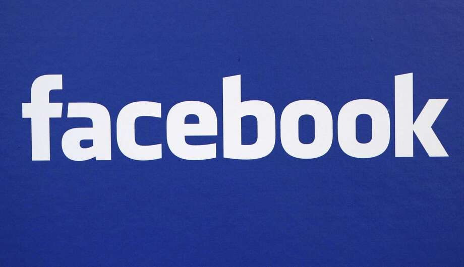 "Facebook couldn't be bothered with color or even a capital ""F"" for its logo. Photo: Craig Ruttle / AP2007"