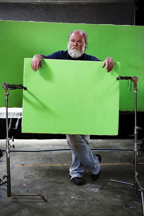 Phil Tippett stands in his special effects studio. Photo: Sonja Och, The Chronicle