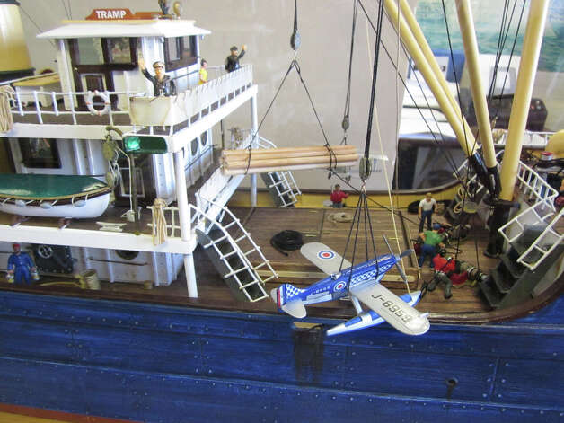 Boat models also will be included in a show honoring Kaye Williams at City Lights Gallery in Bridgeport. Photo: Contributed Photo