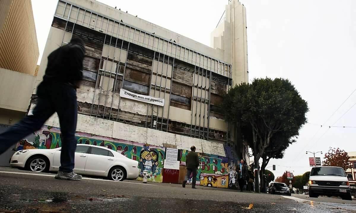 The old Pagoda Theater in San Francisco's North Beach neighborhood has had its development delayed for years.
