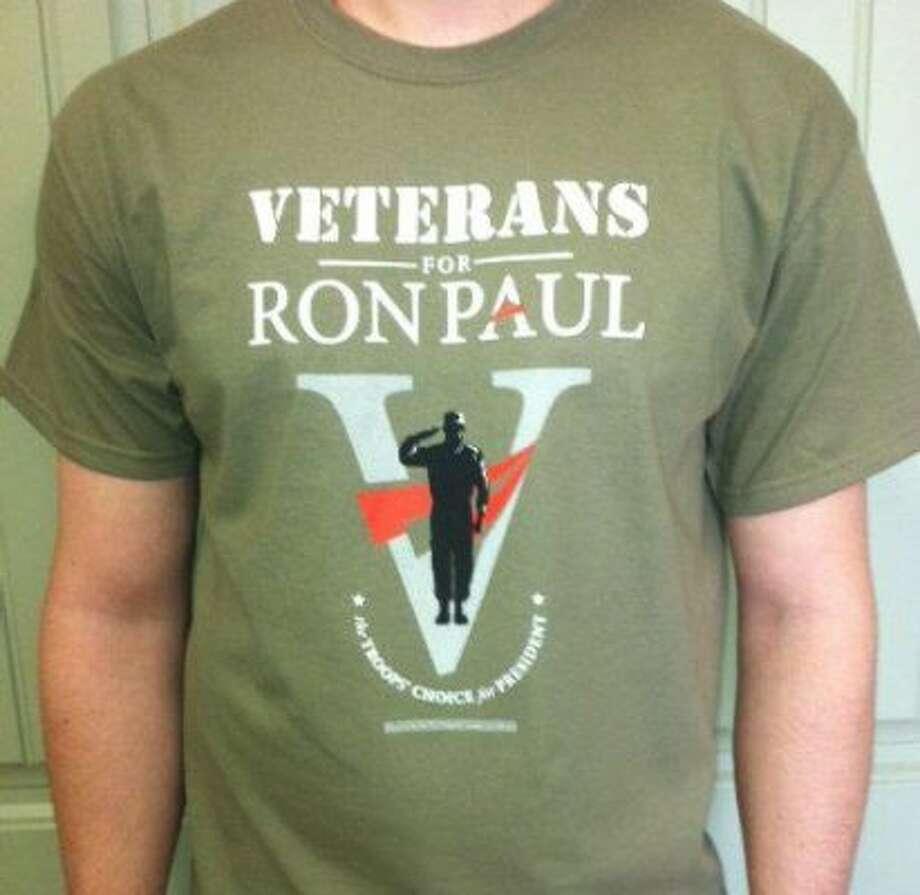 Veterans for Ron Paul T-shirt (Facebook)