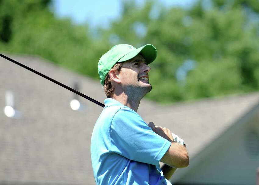Goran Hagegard at the Greenwich Men's Town Golf Tournament at Griffith E. Harris Golf Course on Sunday, July 10, 2011.