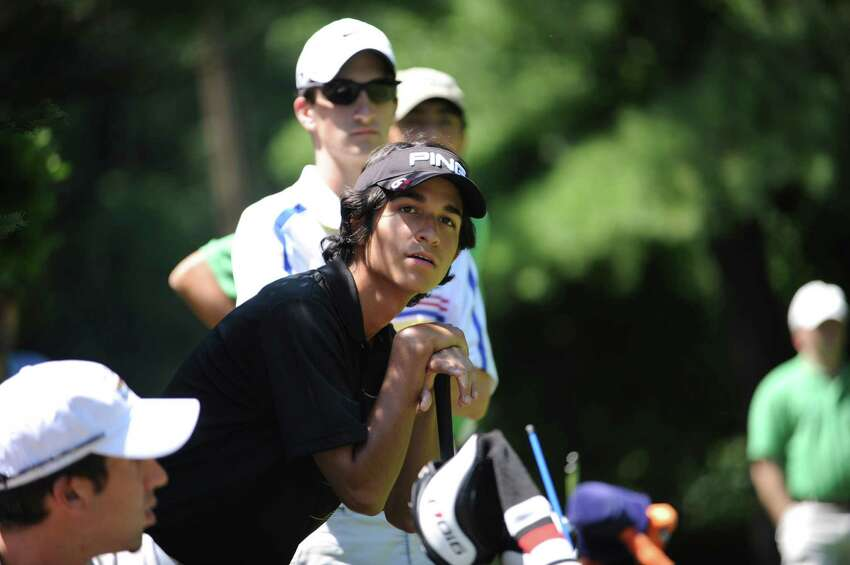 Jason Morilla won second place in the Greenwich Men's Town Golf Tournament in Griffith E. Harris Golf Course on Sunday, July 10, 2011.