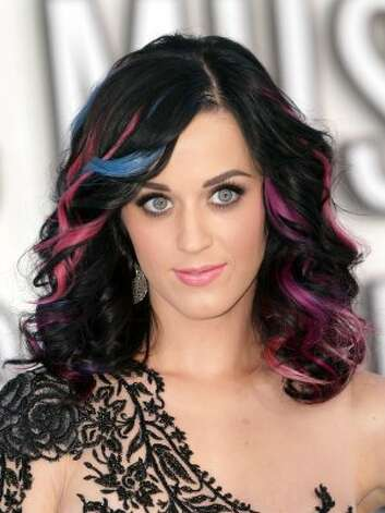 Katy Perry in 2010, at the MTV Video Music Awards in Los Angeles.  (Frederick M. Brown / Getty Images)