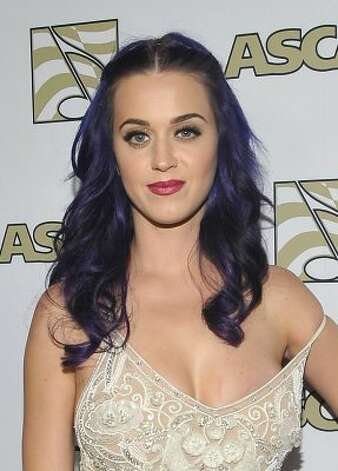 Bloggers wondered if this dress at the ASCAP Pop Music Awards in April was an intentional near wardrobe malfunction.  (John M. Heller / Getty Images)