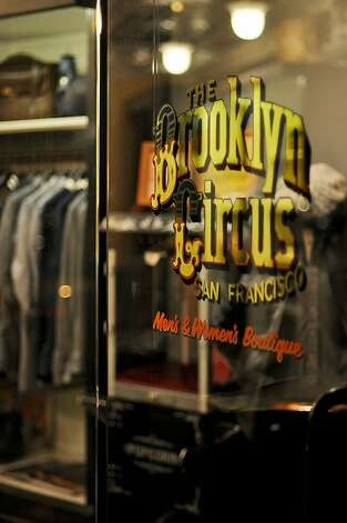 The Brooklyn Circus: Mid-century classics reinterpreted for the modern man form the  backbone of this Lower Fillmore menswear shop, where grandfatherly denim  caps and dapper porkpie hats hold court among retro-minded PF Flyer  high-tops, Oxford button-downs and satin varsity jackets. 1521 Fillmore St., S.F. (415) 359-1999. www.thebkcircus.com. Photo: Gabriel Garcia