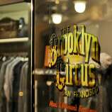 The Brooklyn Circus: Mid-century classics reinterpreted for the modern man form the  backbone of this Lower Fillmore menswear shop, where grandfatherly denim  caps and dapper porkpie hats hold court among retro-minded PF Flyer  high-tops, Oxford button-downs and satin varsity jackets.