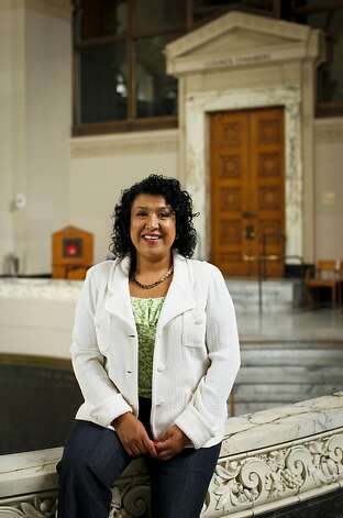 Oakland City Administrator Deanna Santana is seen on Friday, June 29, 2012 at City Hall in Oakland, Calif. Photo: Russell Yip, The Chronicle