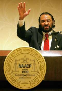U.S. Rep. Al Green speaks during a news conference Friday opening the NAACP 103rd National Convention at the Hilton in Houston. Photo: Cody Duty, Houston Chronicle / © 2011 Houston Chronicle