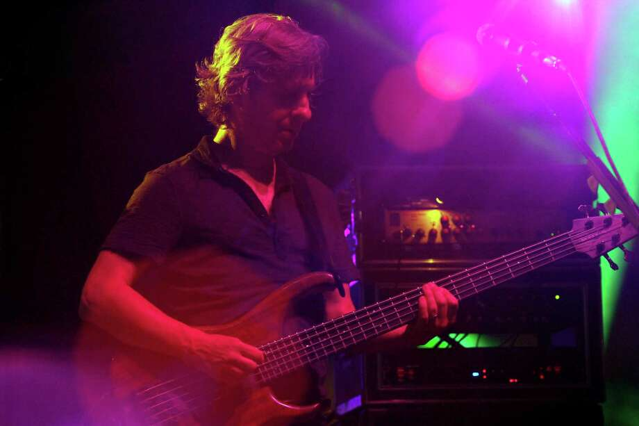 Mike Gordon, bassist and vocalist for the band Phish, performs at the Saratoga Performing Arts Center Friday night, July 6, 2012 in Saratoga Springs, N.Y. (Dan Little/Special to the Times Union) Photo: Dan Little / 00018342A