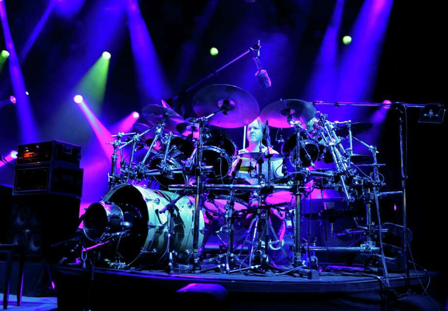 Drummer Jon Fishman for the band Phish, performs at the Saratoga Performing Arts Center Friday night, July 6, 2012 in Saratoga Springs, N.Y. (Dan Little/Special to the Times Union) Photo: Dan Little / Copyright: All Rights Reserved Brett Carlsen
