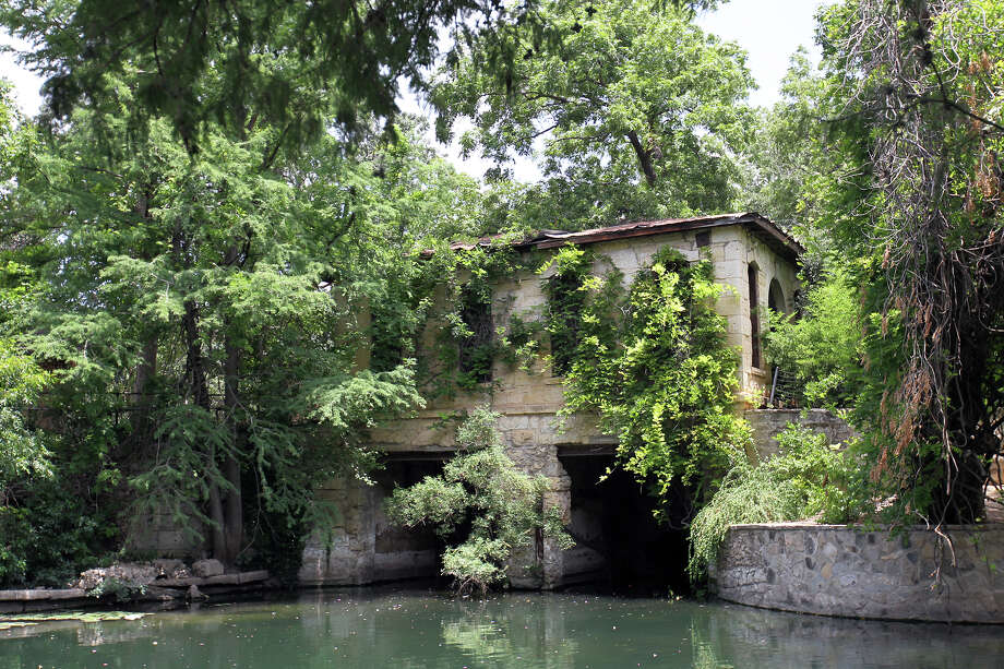 "Pumphouse 1, which is believed to be the second oldest industrial building standing in San Antonio and was built in 1877 with ""with an eye to beauty as well as use"" in Brackenridge Park on the bank of the San Antonio River, July 3, 2012. (JENNIFER WHITNEY) Photo: JENNIFER WHITNEY, Jennifer Whitney/ Special To The Express-News / © Jennifer Whitney"