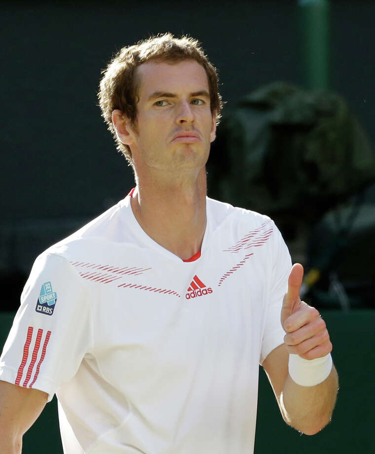 Andy Murray is 8-7 against Roger Federer but 0-2 in Grand Slam finals. Photo: AP