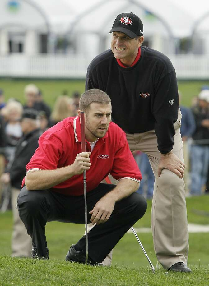 Alex Smith played with Jim Harbaugh in a charity prelim in 2012, but this will be his first main event. Photo: Eric Risberg, Associated Press