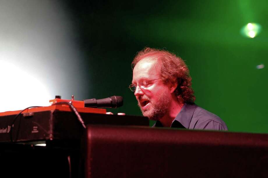 Keyboardist Page McConnell, performs with the band Phish at the Saratoga Performing Arts Center Friday night, July 6, 2012 in Saratoga Springs, N.Y. (Dan Little/Special to the Times Union) Photo: Dan Little / 00018342A