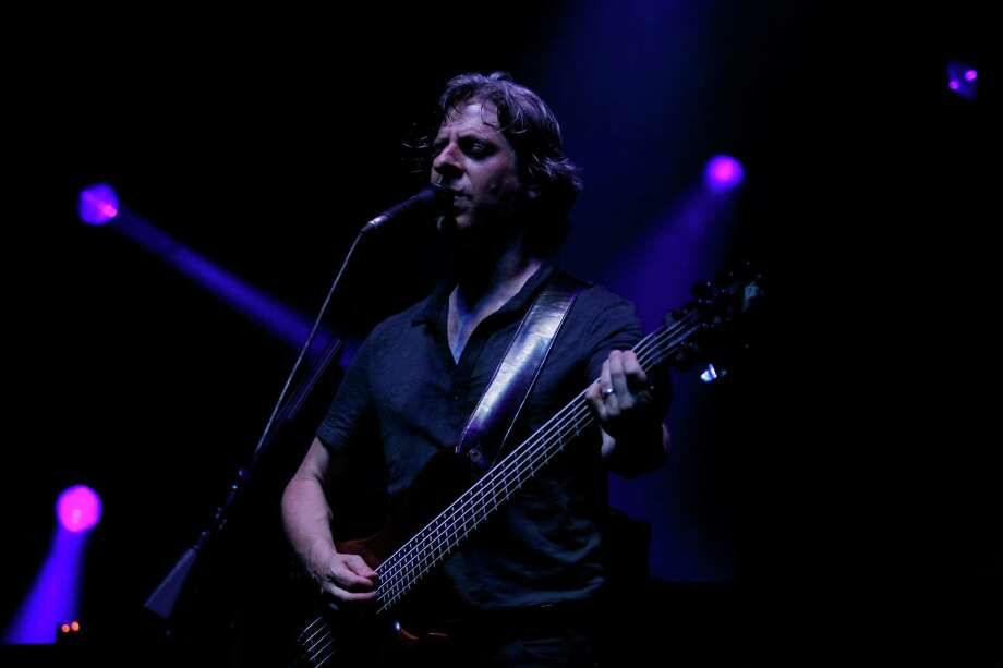 Bassist for the band Phish, Mike Gordon, performs at the Saratoga Performing Arts Center Friday night, July 6, 2012 in Saratoga Springs, N.Y. (Dan Little/Special to the Times Union) Photo: Dan Little / 00018342A