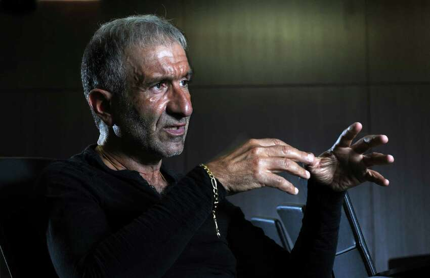 Alain E. Kaloyeros, Senior Vice President and Chief Executive Officer, College of Nanoscale Science and Engineering, speaks during an interview on Tuesday June 26, 2012 in Albany, NY.(Philip Kamrass / Times Union)