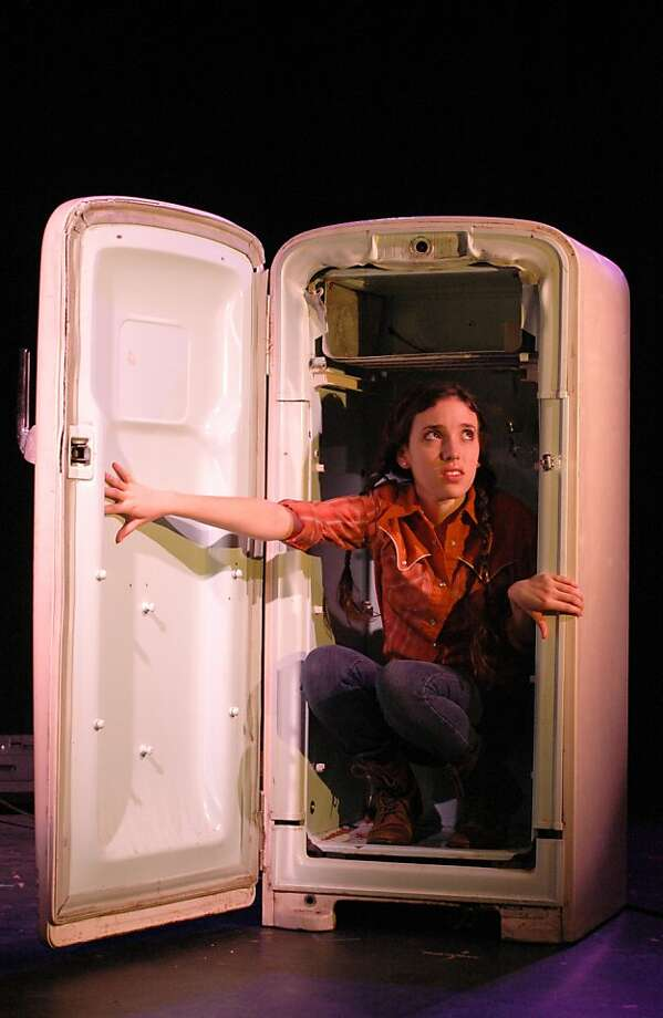 """Jessica Waldman as Emma in Stanford Summer Theater's production of Sam Shepard's """"Curse of the Starving Class"""" Photo: Stefanie Okuda"""