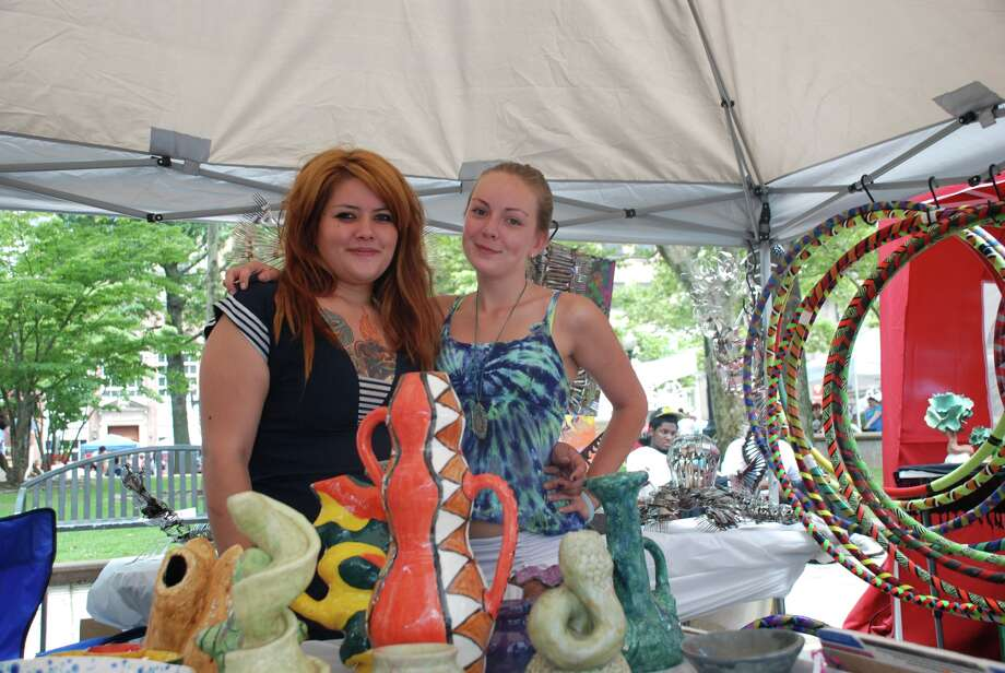 Bridgegport Arts Fest July 7th, McLevy Green Downtown A nice day to spend some free time, and let the creative side out. Photo: Michael Spero / / Hearst Connecticut Media Group