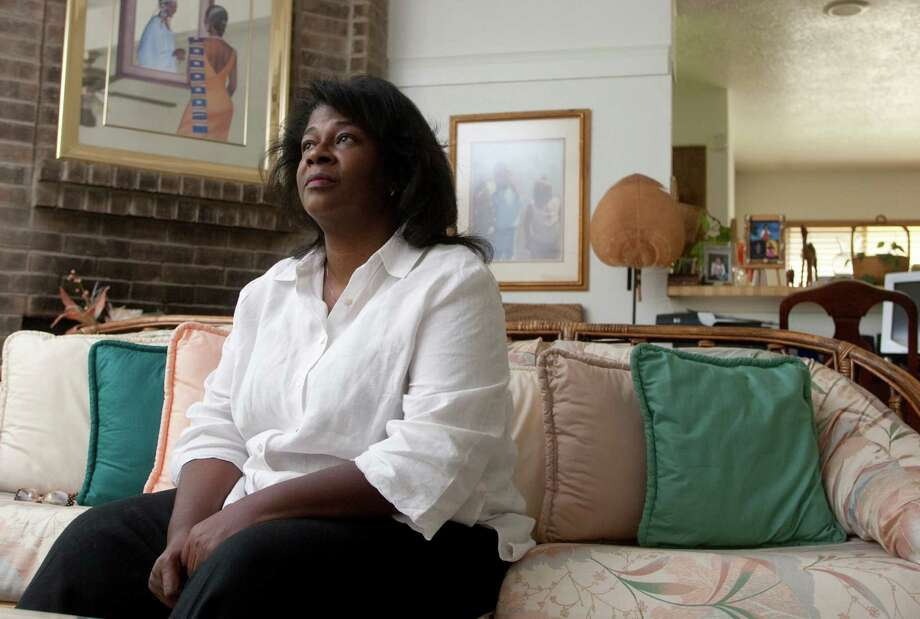 Bettina Cox is photographed at her home on Tuesday, July 6, 2012 in Richmond, Texas. She lost her health insurance several years ago when she lost her job.  Since then, she's developed serious health problems and is an example of someone who could benefit from the Medicaid expansion. Photo: J. Patric Schneider, For The Chronicle / Houston Chronicle