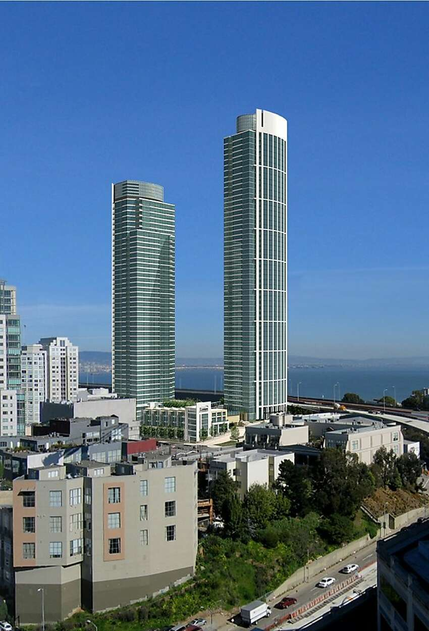 16. One Rincon Hill North Tower (left)Year completed: 2014Height: 541 feet