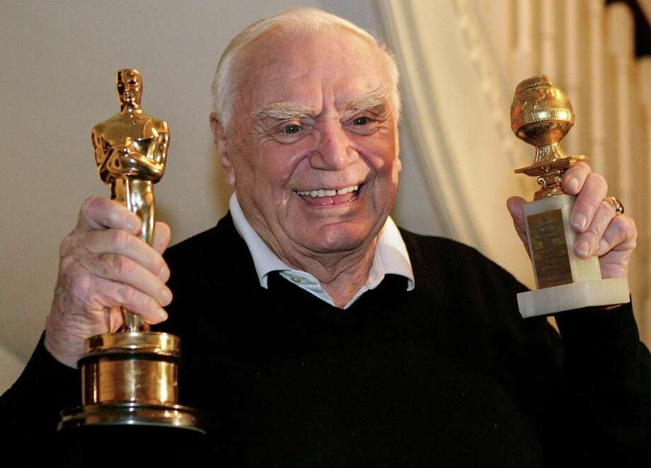 "Ernest Borgnine won an Oscar for his 1955 role in ""Marty,"" about a lovesick Bronx butcher. Photo: AP"