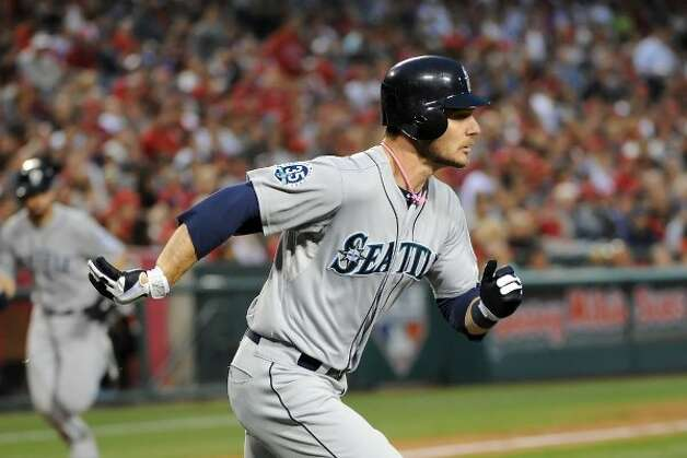 Mariners catcher John Jaso is shaping up to be quite the offensive weapon.